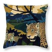 The Edge Of Paradise Throw Pillow by Nathan Miller