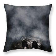 The Edge Of The Unknown Throw Pillow