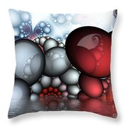 The Egg Family Throw Pillow
