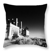 The Electric Company Throw Pillow