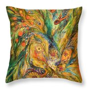 The Elegy Throw Pillow