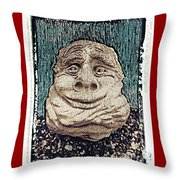 The Elf Throw Pillow