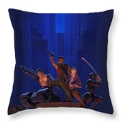 The Eliminators Throw Pillow