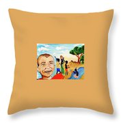 The Elixir Of Life Throw Pillow