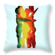 The Embrace 19 Throw Pillow