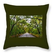 The Emerald Forrest Throw Pillow