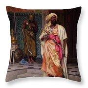 The Emir Throw Pillow