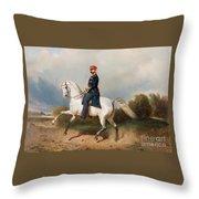The Emperor Alexander Throw Pillow