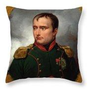The Emperor Napoleon I Throw Pillow