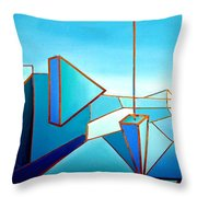 The Emperors Vision 1.0 Throw Pillow