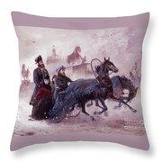 The Empress Maria Fjodorovna Throw Pillow