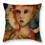 The Empty Man Throw Pillow