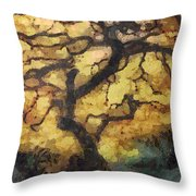 The Empty Tree Throw Pillow