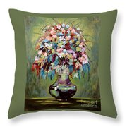 The Empty Vase Throw Pillow