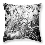 The Enchanted Greenhouse Throw Pillow