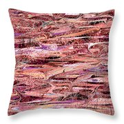 The Enchanted Marsh Throw Pillow