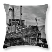 The End Of A Working Life? Throw Pillow