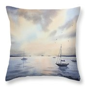 The End Of Day Throw Pillow