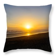 The End Of Days Throw Pillow