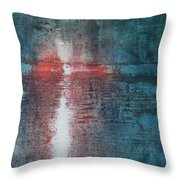 The End Of Life The Beginning Of Life Throw Pillow