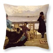 The End Of October Throw Pillow