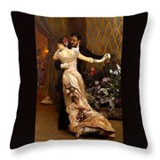 The End Of The Ball Throw Pillow