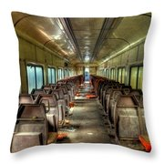 The End Of The Line Throw Pillow