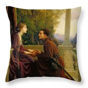The End Of The Quest Throw Pillow