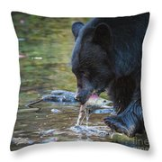 The End Of The Run Throw Pillow