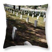 Arlington Tombstones Shade And Light Throw Pillow