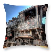 The Engine #3 Throw Pillow