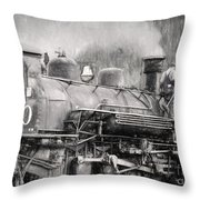 The Engineers Mistress Throw Pillow