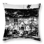 The English Tutor House Throw Pillow