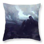 The Enigma 1871 Throw Pillow