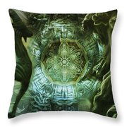 The Enigma Of Capricorn  Throw Pillow