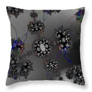 The Enigma Of Constancy Throw Pillow by Peter R Nicholls