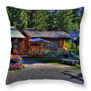 The Entree Gallery II Throw Pillow