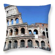 The Epitome Of History Throw Pillow
