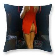 The Essence Of Charlotte Throw Pillow
