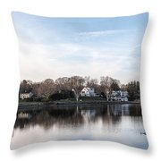 The Essex Connecticut Cove Throw Pillow