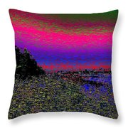 The Estuary Throw Pillow