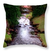 The Eternal Spring Throw Pillow