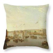The European Factories - Canton Throw Pillow