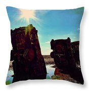 The Ever-rising Flood Of Philistinism Throw Pillow
