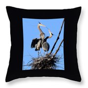 The Exchange Throw Pillow