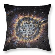 The Eye Of God - Helix Nebula Throw Pillow