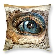 The Eye Of Nature 1 Throw Pillow