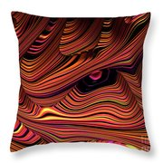 The Eye Of The Dragon Throw Pillow