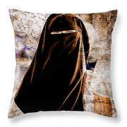 The Eye Of The Other Throw Pillow