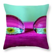 The Eye Of The Petal II Throw Pillow
